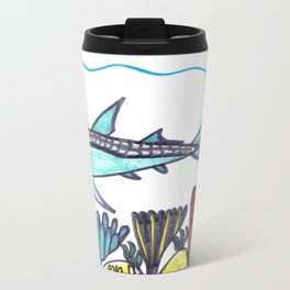Key West Tarpon Travel Mug