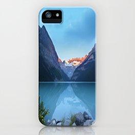 Mountains lake iPhone Case