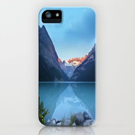 Mountains lake iPhone Case