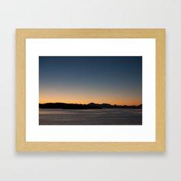 Patagonia Sunset Framed Art Print