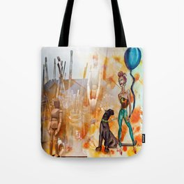 The Tools of Illustration Tote Bag