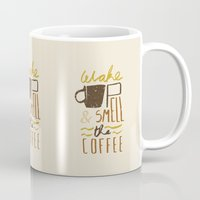 coffee Mugs featuring Coffee by David