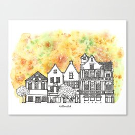 Splash | Willemstad Canvas Print