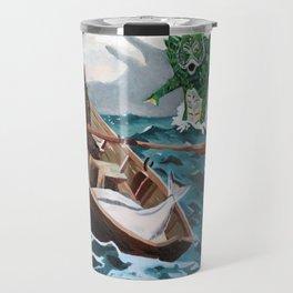 "Winslow Homer's ""Storm Warning"" Revisted Travel Mug"