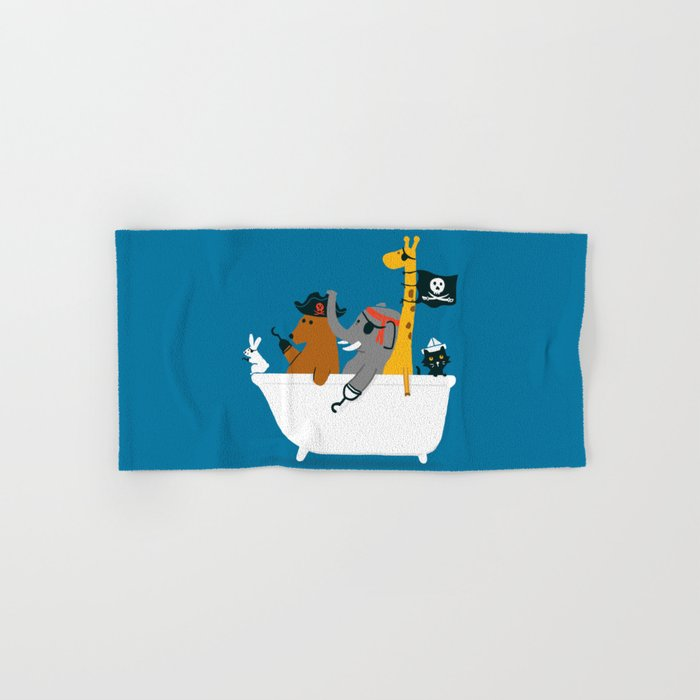 Everybody wants to be the pirate Hand & Bath Towel