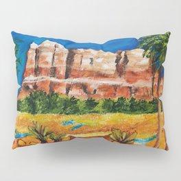 Courthouse Butte Rock, Sedona Arizona Pillow Sham