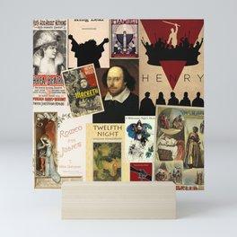 Shakespeare Mini Art Print