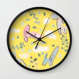 cozy sunday mood Wall Clock