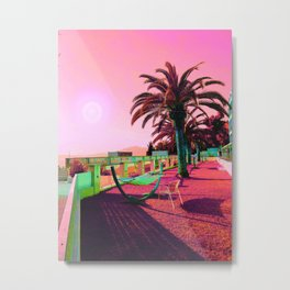 By the Beach Metal Print
