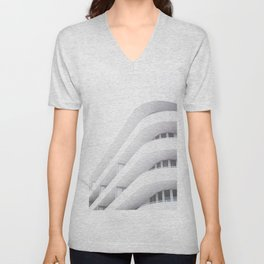 Art Deco Miami Beach #20 Unisex V-Neck