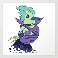 dota Art Prints featuring DotA 2: Death Prophet by Birbles
