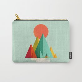Little Geometric Tipi Carry-All Pouch