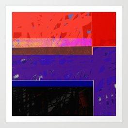 Downe Burns - Life Trip 7 -P5 Art Print