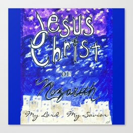 Faith In Christ Canvas Print
