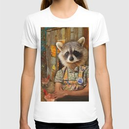 Mrs. Raccoon T-shirt