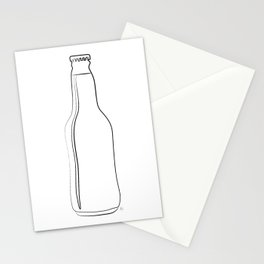 """"""" Kitchen Collection """" - Beer Bottle Stationery Cards"""
