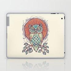 Owl on branch Laptop & iPad Skin