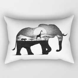 WILD AFRICA Rectangular Pillow