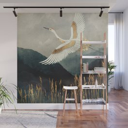 Elegant Flight Wall Mural