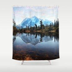Mt Shuksan Shower Curtain