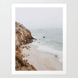 malibu coast / california Kunstdrucke