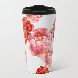 vintage floral Travel Mug