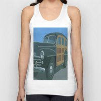 woody Tank Tops featuring Woody by Gerry High