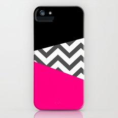 Color Blocked Chevron 8 Slim Case iPhone (5, 5s)