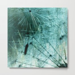 Dandelion Art 8 Metal Print