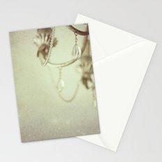 Vintage chandelier  Stationery Cards