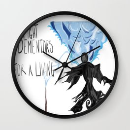 Fighting Our Demons Wall Clock