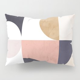 Geometric Moontime 1 Pillow Sham