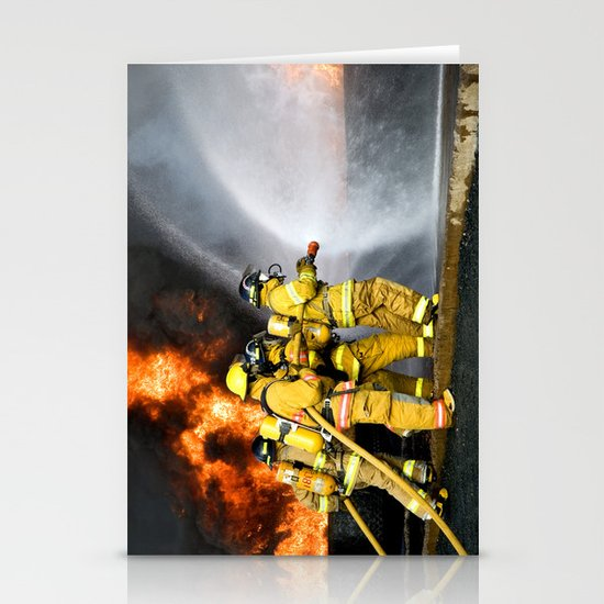 Firefighters Stationery Cards