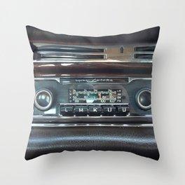 pillow radio. vintage radio becker europa throw pillow