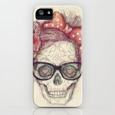 Hipster Girl is Dead iPhone (5, 5s) Slim Case