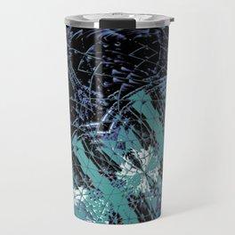 iDeal - Shattered Green Travel Mug