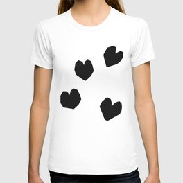 Love Yourself no.2 - black and white love art illustration T-shirt