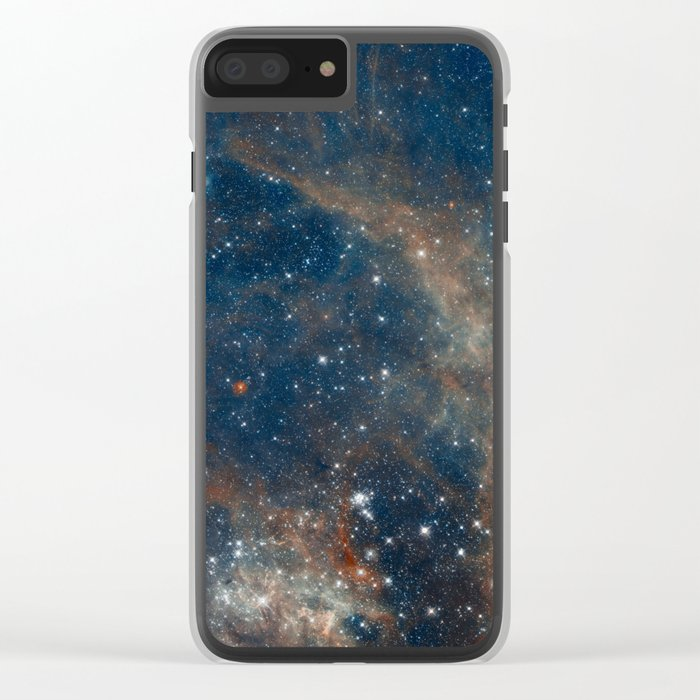 Space 05 Clear iPhone Case