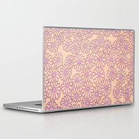 daisies Laptop & iPad Skins featuring daisies by clemm