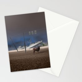 atmosphere · stupidity Stationery Cards