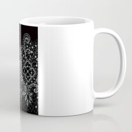 B&W Lace Coffee Mug