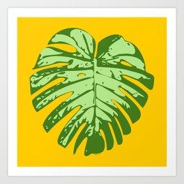 Cheese Plant Art Print