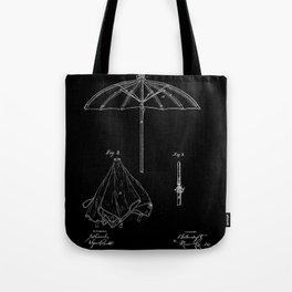 patent umbrela Tote Bag