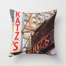 Katz Throw Pillow