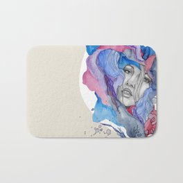 """Lotte"" by carographic Bath Mat"