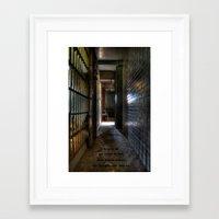 red dead redemption Framed Art Prints featuring Redemption by Mark Alder