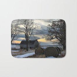 Sunset in Centralia Bath Mat