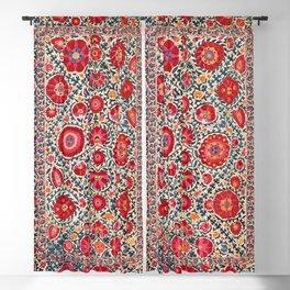 Kermina Suzani Uzbekistan Embroidery Print Blackout Curtain