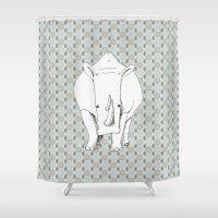 safari Shower Curtains featuring Safari by Robyn Smith