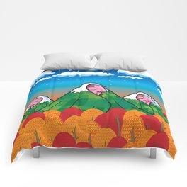 The sleeping giants Comforters